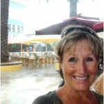 Eve Grace-Kelly - on a wet day in Curacao - Marketers' Cruise - Jan 2011